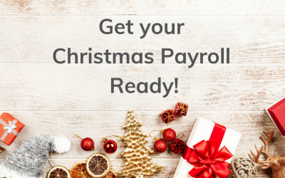Get your Christmas Payroll ready!
