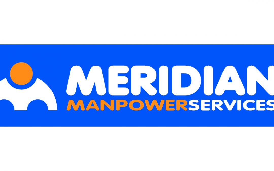 Logo for Meridian Manpower Services